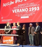 Carla Simón and her contained excitement awarded at Málaga - Málaga 2017 – Awards
